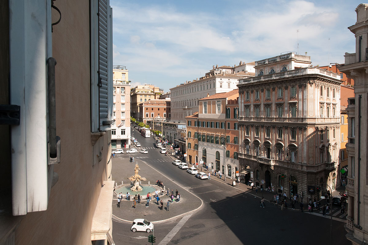 View of Barberini Square